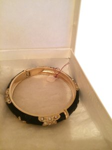Talbots Talbots Black and Gold Bracelet (NEW) gift box included