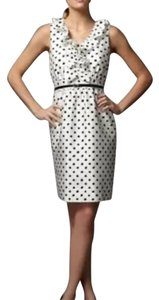 Kate Spade short dress White with black polka dots on Tradesy
