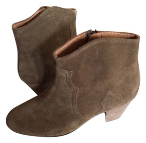 Isabel Marant The Dicker Bootie New In Box Brown Suede Boots