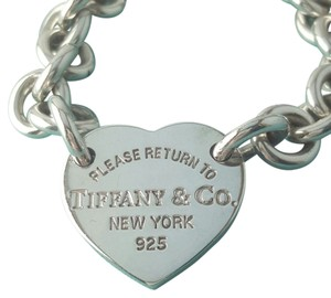 Tiffany & Co. STUNNING!!!! Tiffany & Co. Return to Tiffany Heart Tag Bracelet Sterling Silver 7