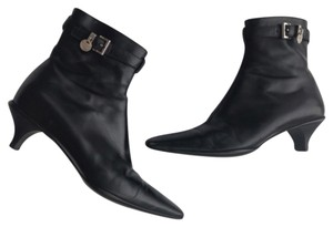 Prada Black with silver accent Boots