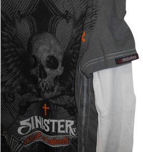 Sinister Mens Xl Graphic T Shirt Black,