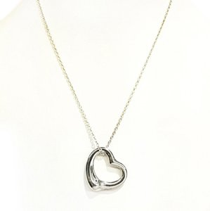 Tiffany & Co. BEAUTIFUL!! Tiffany & Co. Open Heart Necklace Sterling Silver 16