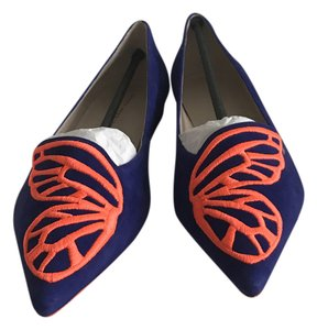 Sophia Webster Electric blue Flats