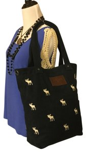 Abercrombie & Fitch Tote in Navy/White
