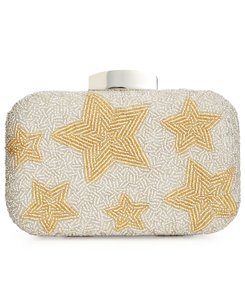 La Regale Silver Gold Clutch