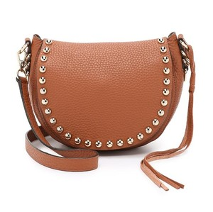 Rebecca Minkoff Unlined Leather Saddle Cross Body Bag