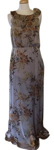 cream print Maxi Dress by Vera Wang Lavender Label