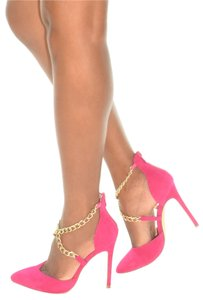 Liliana Fuchsia Pumps