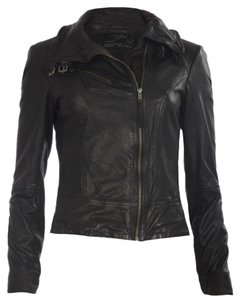 AllSaints Biker Leather Rick Owens Motorcycle Jacket
