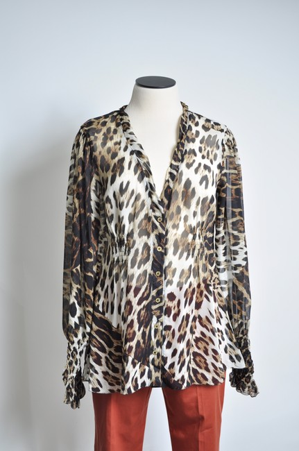 Preload https://img-static.tradesy.com/item/2037155/roberto-cavalli-beige-for-h-and-m-blouse-size-10-m-0-0-650-650.jpg