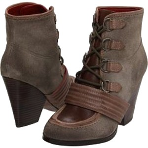 Luxury Rebel Suede Lace Up Nordstrom Grey/Brown Boots