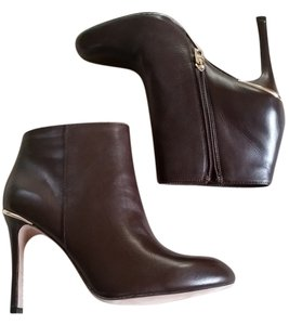 Coach Leather Napa Brown Boots