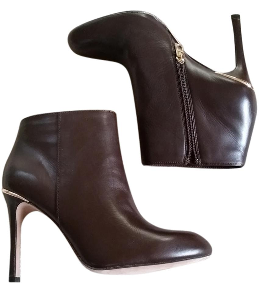 Coach Brown Nila Dress Napa Chestnut Boots Booties Size Us 7 5 Regular M B Tradesy