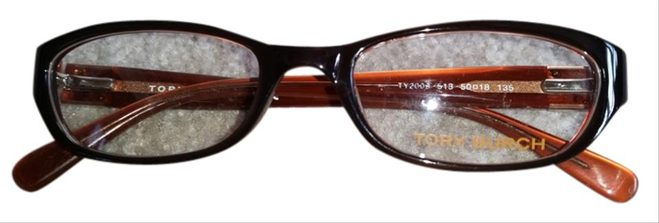 d7da43d8d9 Tory Burch Brown New Eye Glasses Sunglasses - Tradesy