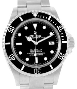 Rolex Rolex Seadweller Stainless Steel Black Dial Automatic Mens Watch 16600