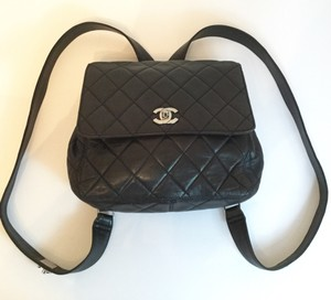 Chanel Lambskin Backpack