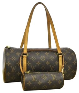 Louis Vuitton Monogram Papillon 30 Shoulder Bag