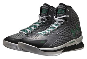 Under Armour Curry Green Grey White Athletic