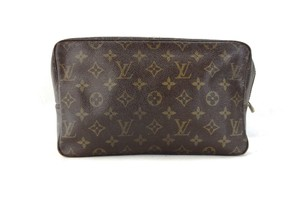 Louis Vuitton Vintage Trousse Toilette 28 Monogram Cosmetics Travel Makeup Bag