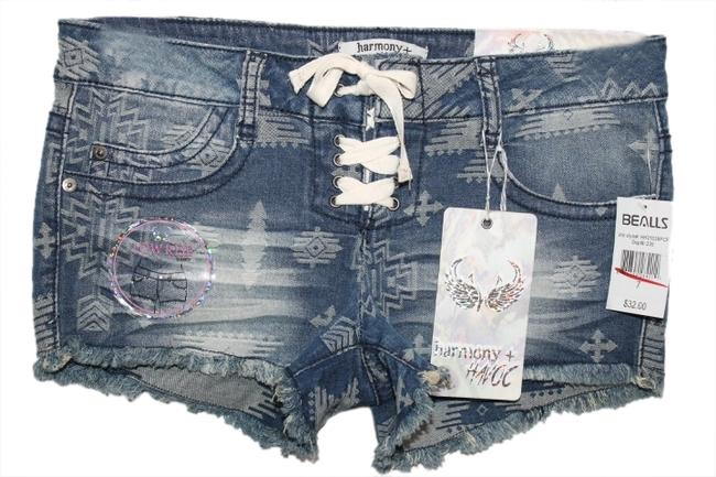Preload https://item1.tradesy.com/images/harmony-and-havoc-distressed-denim-new-with-tags-cut-off-minishort-shorts-size-6-s-28-2037300-0-0.jpg?width=400&height=650
