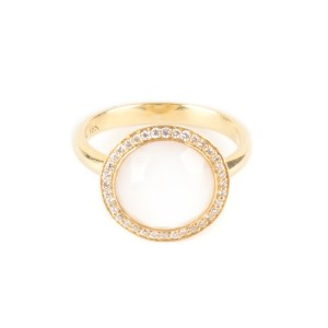 Ippolita Ippolita Lollipop Gold And Mother Of Pearl Ring