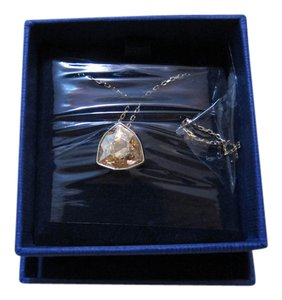 Swarovski NWT Citrine Necklace