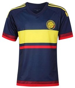 adidas Colombia Jersey Soccer T Shirt Blue Yellow Red