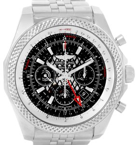Breitling Breitling Bentley GMT Chronograph Black Dial Mens Watch AB0431
