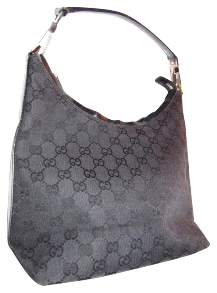 Gucci Chrome Hardware Dressy Or Casual Hard To Find Style Mint Vintage  Perfect Everyday Hobo Bag ... 9dea10c470b5a