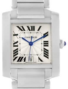 Cartier Cartier Tank Francaise Automatic Stainless Steel Large Watch W51002Q3
