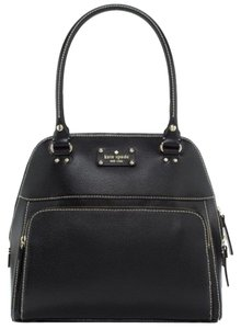 Kate Spade Leather Classic Tote in Black