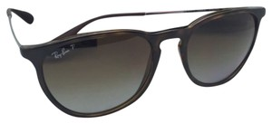 Ray-Ban Polarized Ray-Ban Sunglasses ERIKA RB 4171 710/T5 Havana Frames w/Brow