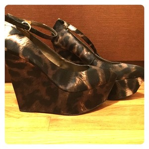 Sam Edelman Wedge Animal Leopard print Wedges