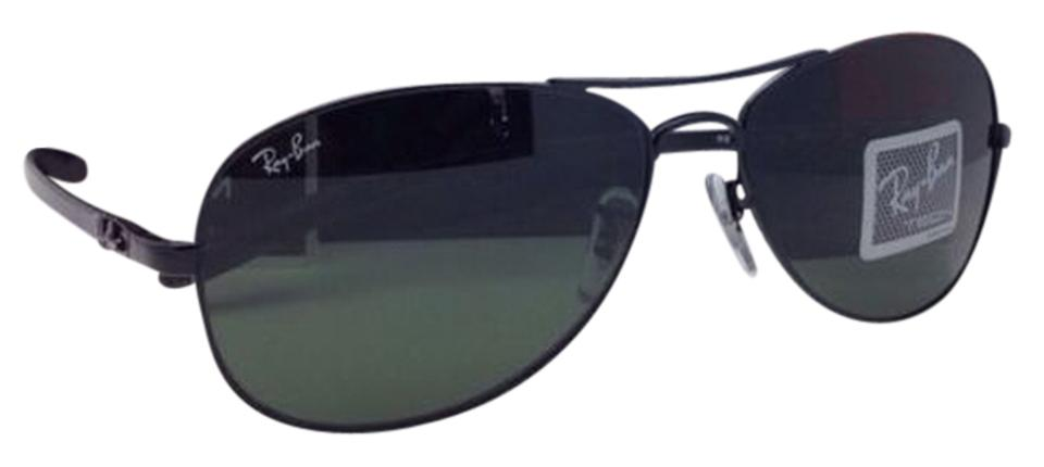 42e2663e72de Ray-Ban Rb 8301 002 Tech 56-14 Black   Carbon Fiber Frame G-15 ...