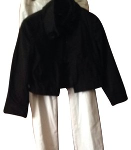 Banana Republic Black, White Jacket