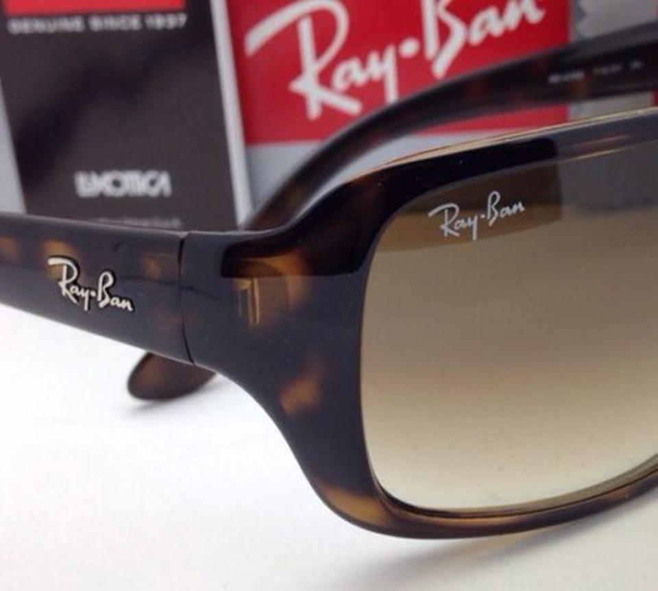 bf1c36ce40a Ray-Ban New Rb 4068 710 51 60-17 Havana Frame W Brown Gradient 710 51 W  Brown Fade Sunglasses - Tradesy