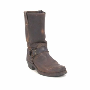 Frye Leather Rugged Classic Brown Boots