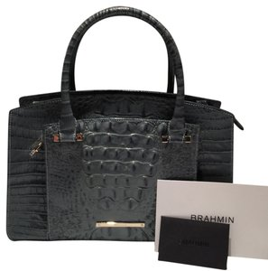 Brahmin Satchel in Jasper