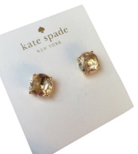 Kate Spade Kate spade earrings with pouch.