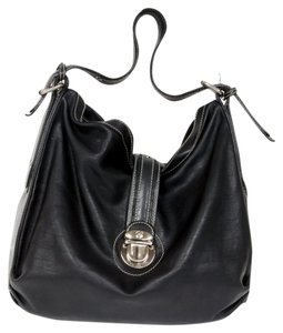 Marc Jacobs Gg Lv Cc Leather Mk Shoulder Bag