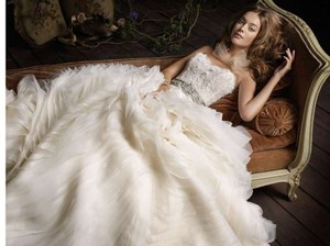 Lazaro 3100 Wedding Dress