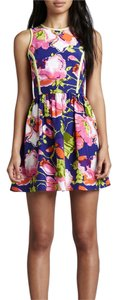 Parker short dress Multi on Tradesy