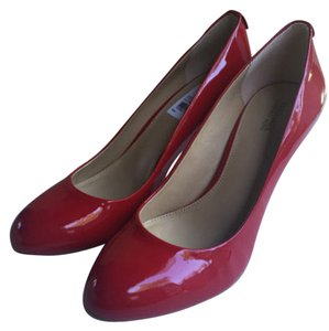 Michael Kors Patent Red Pumps