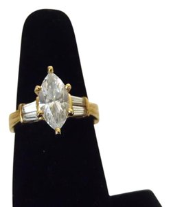 Victoria Wieck Victoria Wieck 14k Yellow Gold Absolute Diamond Ring Size 7