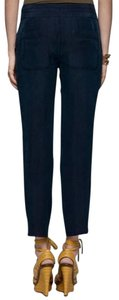 Theory Relaxed Pants Navy Blue