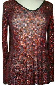 Giorgio Armani New Years Eve Casual Swarovski Crystals Sweater