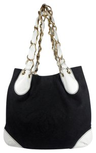 Chanel Bicolor Two Tone Neverfull Shoulder Bag