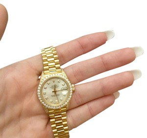 Rolex Rolex president Datejust 18K gold 29diamonds