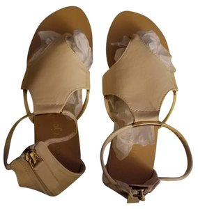 Cathy Jean Beige/Pinkish Sandals